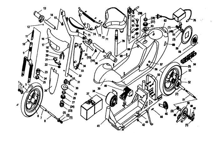 terminator scooter wiring diagram terminator es